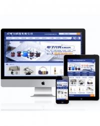 电子机械设备行业网站织梦模板(带手机端)