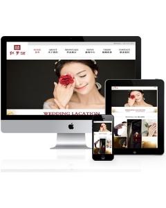 响应式摄影类企业网站织梦模板(自适应设备)