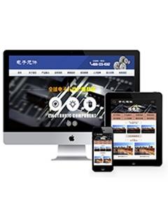 电子元件工程工具类网站织梦模板(带手机端)